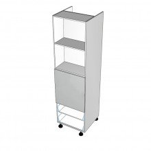 Carcass Only - Walloven Cabinet - 2 Drawers (Finista)