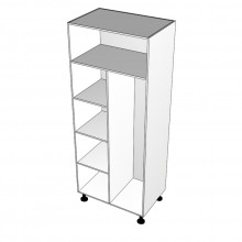 Laminex 16mm ABS - Wardrobe Cabinet - Hanging Space Right
