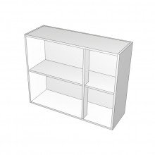 Carcass Only - Overhead Cabinet - Right Hand Mullion