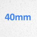 White Speck - Gloss Finish - Essential Range 40mm