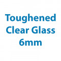 Toughened Clear Glass - 6mm Thick