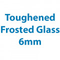 Toughened Frosted Glass - 6mm Thick