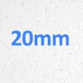 White Speck - Gloss Finish - Essential Range 20mm