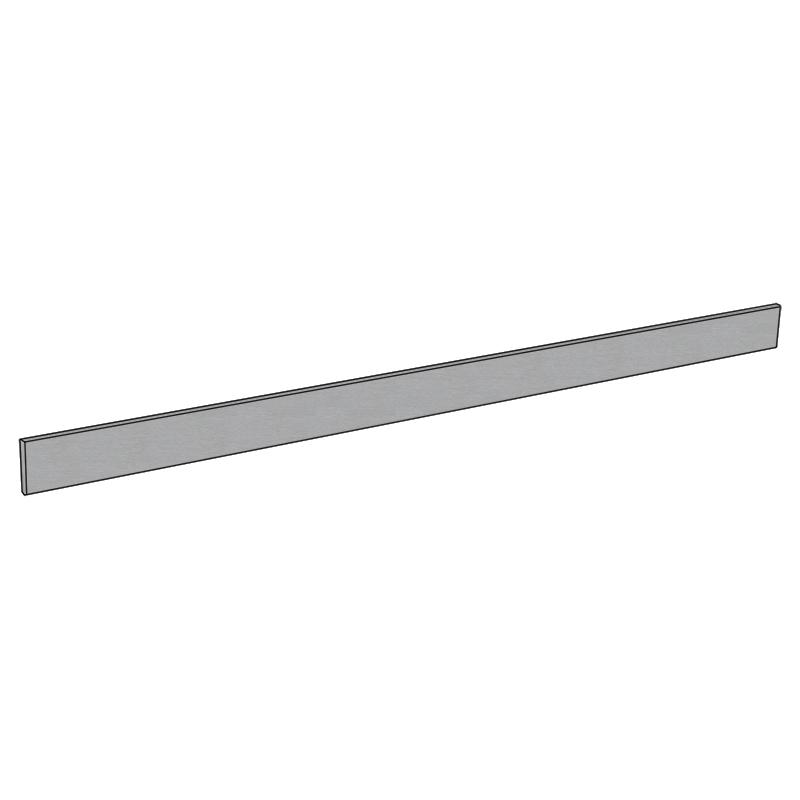 Waterproof Brushed Stainless Steel - 150mm x 3600mm